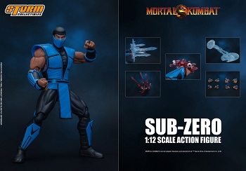 Storm Collectibles Mortal Kombat 3 SUB-ZERO